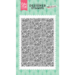 Echo Park - Fashionista Collection - Clear Acrylic Stamps - Dainty Rose