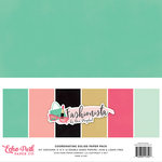Echo Park - Fashionista Collection - 12 x 12 Paper Pack - Solids
