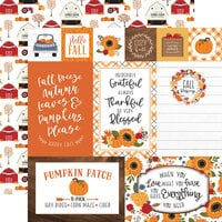 Echo Park - Fall Collection - 12 x 12 Double Sided Paper - Multi Journaling Cards