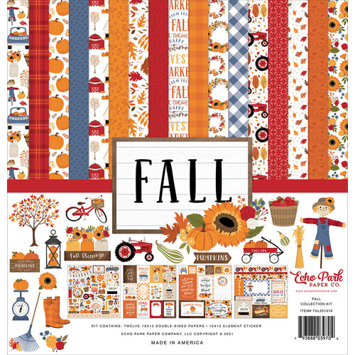 Echo Park - Fall Collection - 12 x 12 Collection Kit
