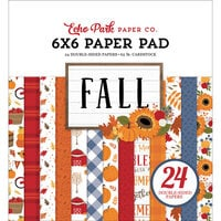 Echo Park - Fall Collection - 6 x 6 Paper Pad