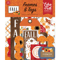 Echo Park - Fall Collection - Ephemera - Frames and Tags