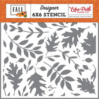 Echo Park - Fall Collection - 6 x 6 Stencils - Autumn Time