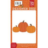 Echo Park - Fall Collection - Designer Dies - Harvest Pumpkin