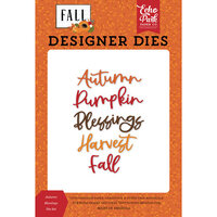 Echo Park - Fall Collection - Designer Dies - Autumn Blessings