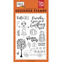 Echo Park - Fall Collection - Clear Photopolymer Stamps - Welcome Autumn