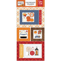 Echo Park - Fall Collection - Chipboard Embellishments - Frames