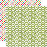 Echo Park - Fine and Dandy Collection - 12 x 12 Double Sided Paper - Turtles