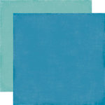 Echo Park - Fine and Dandy Collection - 12 x 12 Double Sided Paper - Blue