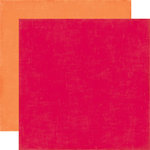 Echo Park - Fine and Dandy Collection - 12 x 12 Double Sided Paper - Red
