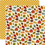 Echo Park - Fall is in the Air Collection - 12 x 12 Double Sided Paper - Changing Leaves