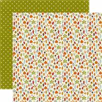Echo Park - Fall is in the Air Collection - 12 x 12 Double Sided Paper - Fall Festival