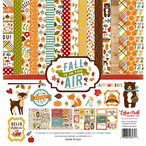 Echo Park - Fall is in the Air Collection - 12 x 12 Collection Kit