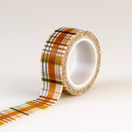 Echo Park - Fall is in the Air Collection - Decorative Tape - Plaid