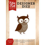 Echo Park - Fall is in the Air Collection - Designer Dies - Wise Old Owl