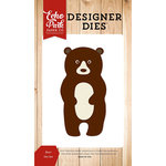 Echo Park - Fall is in the Air Collection - Designer Dies - Bear