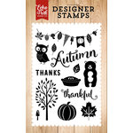 Echo Park - Fall is in the Air Collection - Clear Acrylic Stamps - Feeling Thankful