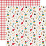 Echo Park - Farmhouse Kitchen Collection - 12 x 12 Double Sided Paper - Kitchen Chaos
