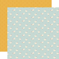 Echo Park - Farmhouse Kitchen Collection - 12 x 12 Double Sided Paper - Hungry Hens