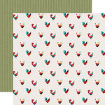 Echo Park - Farmhouse Kitchen Collection - 12 x 12 Double Sided Paper - Roaming Roosters