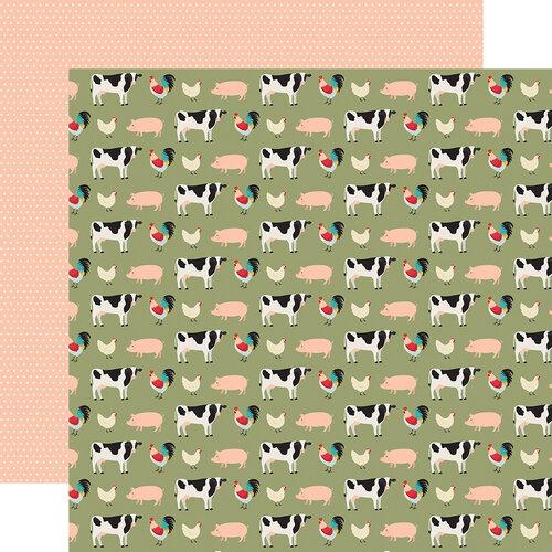 Echo Park - Farmhouse Kitchen Collection - 12 x 12 Double Sided Paper - Farmhouse Friends