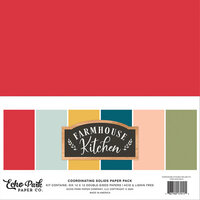 Echo Park - Farmhouse Kitchen Collection - 12 x 12 Paper Pack - Solids