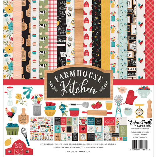 Echo Park - Farmhouse Kitchen Collection - 12 x 12 Collection Kit
