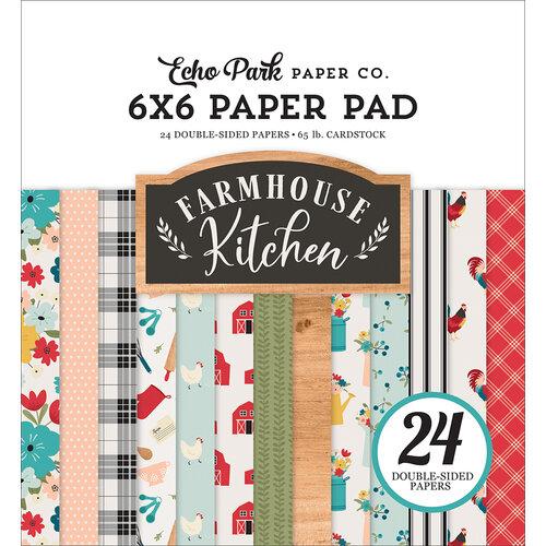 Echo Park - Farmhouse Kitchen Collection - 6 x 6 Paper Pad