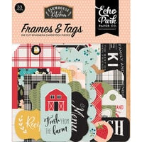 Echo Park - Farmhouse Kitchen Collection - Ephemera - Frames and Tags