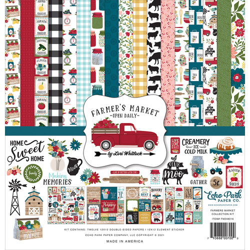 Echo Park - Farmer's Market Collection - 12 x 12 Collection Kit