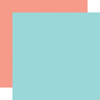 Echo Park - Farmer's Market Collection - 12 x 12 Double Sided Paper - Light Blue
