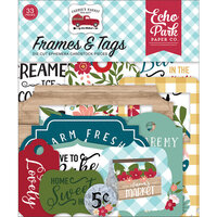 Echo Park - Farmer's Market Collection - Frames and Tags