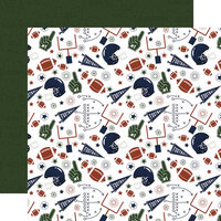 Echo Park - Football Collection - 12 x 12 Double Sided Paper - Play Hard, Win Big