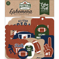 Echo Park - Football Collection - Ephemera