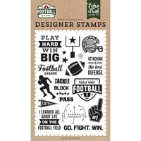 Echo Park - Football Collection - Clear Photopolymer Stamps - Tackle