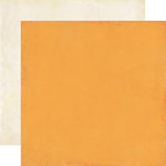 Echo Park - For the Record 2 Collection - Tailored - 12 x 12 Double Sided Paper - Orange