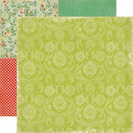 Echo Park - For The Record Collection - 12 x 12 Double Sided Paper - Vintage Linen