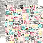 Echo Park - Forward With Faith Collection - 12 x 12 Double Sided Paper - Faith And Hope