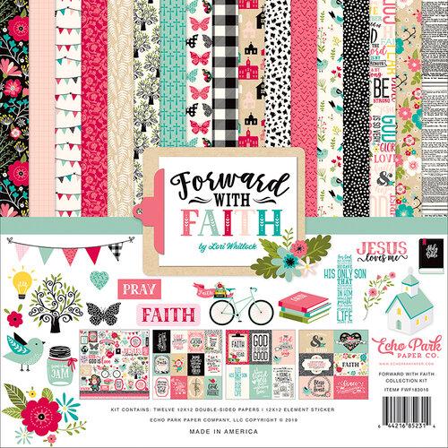 Echo Park - Forward With Faith Collection - 12 x 12 Collection Kit