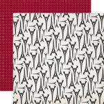 Echo Park - Getaway Collection - 12 x 12 Double Sided Paper - Paris