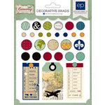 Echo Park - Getaway Collection - Decorative Brads