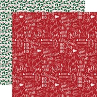 Echo Park - A Gingerbread Christmas Collection - 12 x 12 Double Sided Paper - Holiday Cheer