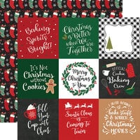 Echo Park - A Gingerbread Christmas Collection - 12 x 12 Double Sided Paper - 4 x 4 Journaling Cards