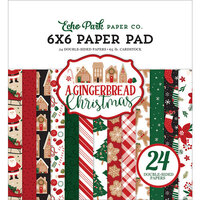 Echo Park - A Gingerbread Christmas Collection - 6 x 6 Paper Pad