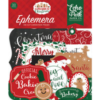 Echo Park - A Gingerbread Christmas Collection - Ephemera