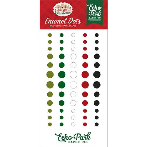 Echo Park - A Gingerbread Christmas Collection - Enamel Dots