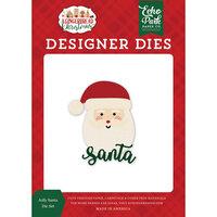 Echo Park - A Gingerbread Christmas Collection - Designer Dies - Jolly Santa