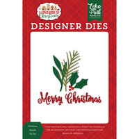 Echo Park - A Gingerbread Christmas Collection - Designer Dies - Christmas Boughs