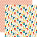 Echo Park - Good Day Sunshine Collection - 12 x 12 Double Sided Paper - Sweet Treat
