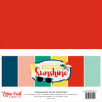 Echo Park - Good Day Sunshine Collection - 12 x 12 Paper Pack - Solids